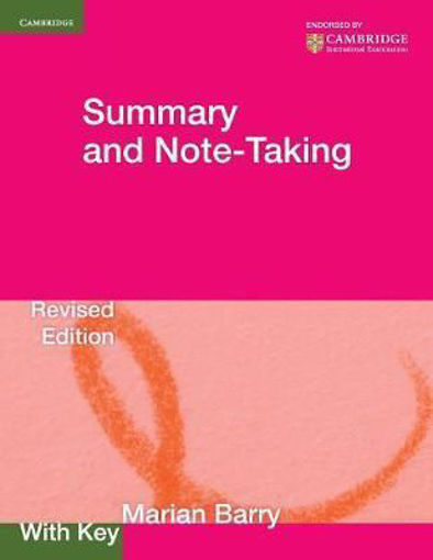 Picture of Summary and Note-Taking, with key