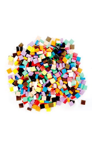 Picture of Craft Foam Assorted Mosaic Pieces 500pk