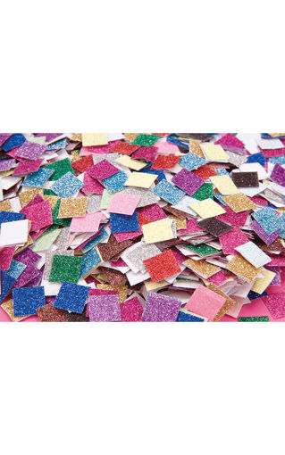 Picture of Small Glitter Paper Mosaic Pieces 4000pk
