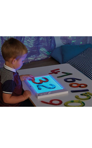 Picture of A4 RGB Colour Changing Rechargeable Light Panel