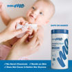Picture of SHIELD ME - High Level Disinfectant CANISTER  WIPES (Capacity: 80 canister wipes)